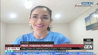 HOY / Las academias de danzas se encuentran muy afectadas por la pandemia y las clases solo pueden realizarse de forma virtual