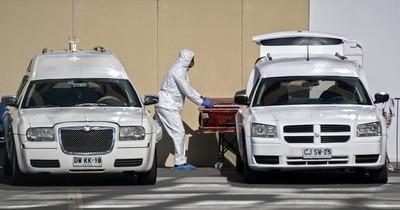 Chile registra su mayor cifra de muertes diarias desde el inicio de la pandemia