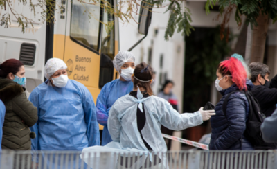 HOY / Salud Pública argentina confirma casi mil nuevos casos de covid-19