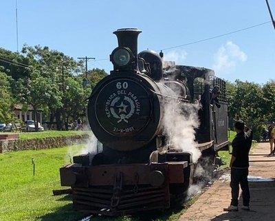 """""""El inglés"""" calentando motores para volver a las vías"""