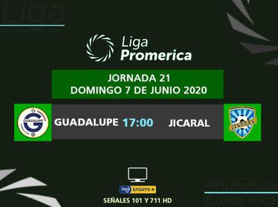 Guadalupe y Jicaral pelean por un lugar en la fase final