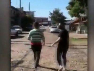 Video viral: Mujeres no cumplían cuarentena en predio militar