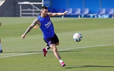 """Messi está """"perfectamente"""" para jugar en Mallorca"""