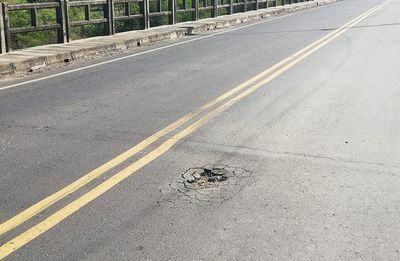 MOPC también hace la vista gorda sobre situación de la ruta Villeta km 40-Alberdi