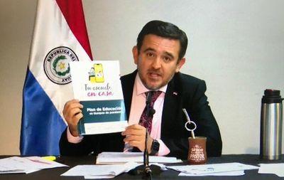 Dictamen favorable para voto censura a ministro de Educación