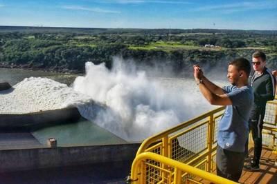 Visitas siguen suspendidas en el complejo turístico de Itaipú