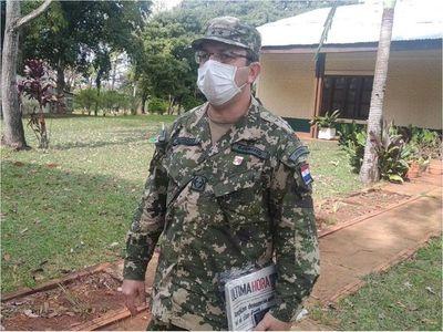 Registran 39 contagiados con Covid-19 en División de Infantería