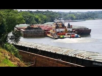 Medio internacional advierte sobre extinción del río Paraná por depredación paraguaya