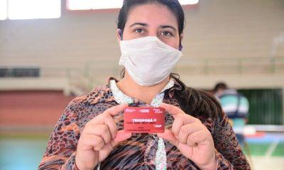 Beneficiarios de Tekoporã en C. del Este recibieron sus respectivas tarjetas – Diario TNPRESS