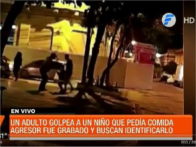Identifican a niño maltratado en el microcentro de Asunción y buscan a agresor
