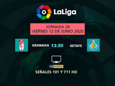 La Liga prosigue con un atractivo juego entre Granada y Getafe