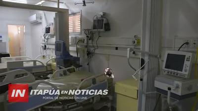 CUENTA REGRESIVA PARA HABILITAR ALBERGUE COVID EN EL HOSPITAL DE IPS