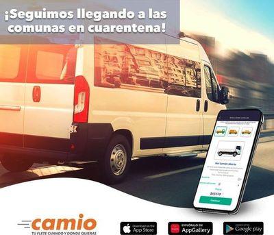 """""""Camio"""": La app que te facilita el traslado de cargas en tiempo de pandemia • Luque Noticias"""