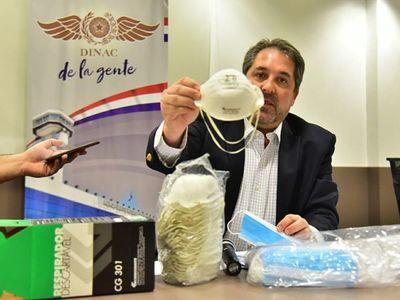 Caso Dinac: Mascarillas licitadas se fabricaron solo hasta el 2017