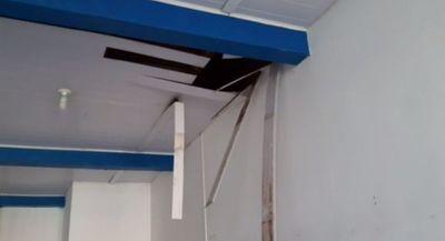Obrero muere tras caer del cielorraso de una obra en Pedro Juan