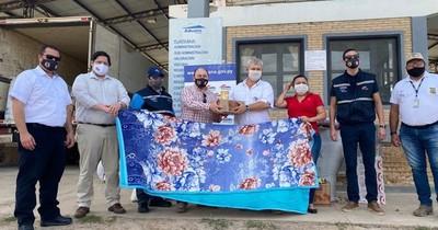 Donaciones llegan al Alto Paraguay
