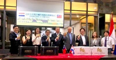 Primer contenedor de carne refrigerada del país llega a Taiwán