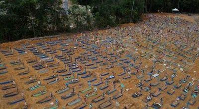 Desconcierto en Brasil con casi 43 mil muertes
