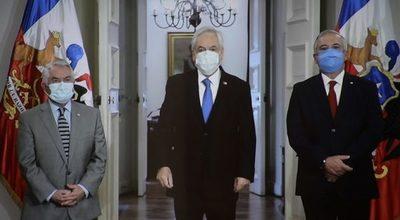 Chile mintió en su cifra de fallecidos y cambian a su ministro de salud
