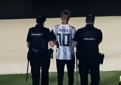 LaLiga iniciará acciones legales contra joven que buscó selfie con Messi