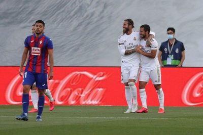 Real Madrid no falla y le sigue el paso al Barcelona