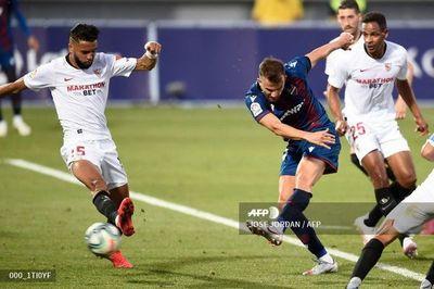 El Sevilla deja escapar dos puntos ante el Levante