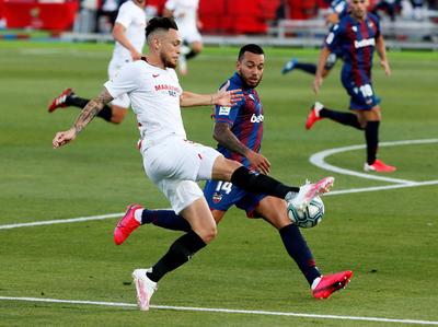 Resumen del partido Levante 1-1 Sevilla