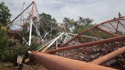 Destruyen antenas en tres poblados de Bolivia por creerlas transmisoras de covid-19