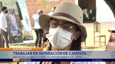 CONSTRUCCIÓN DE OBRAS VIALES GENERARÁN FUENTE DE TRABAJO PARA POBLADORES DE ALTO PARAGUAY