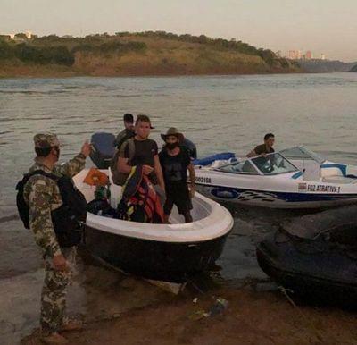 Tres hombres detenidos tras intentar ingresar ilegalmente al país