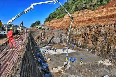 Puente de la Integración va tomando forma en ambas márgenes