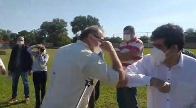 Intendente de San Roque viola cuarentena sanitaria: Afirma que el Covid-19 es una farsa