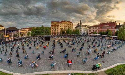 En Rumania organizan el primer concierto con distanciamiento social