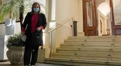 Samaniego abandonó hotel salud luego de cumplir cuarentena