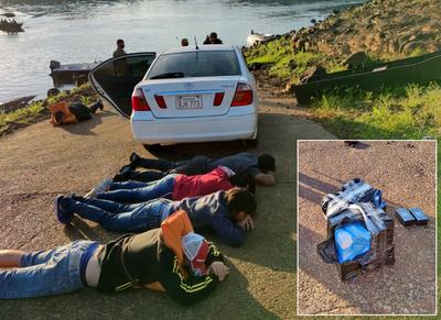 Detienen a tres brasileños y dos paraguayos que pretendían cruzar el río Paraná