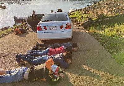 Detienen a otras cinco personas en el río Paraná