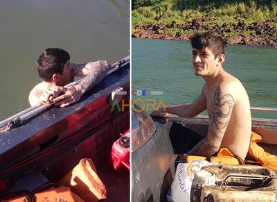 Segundo en el dia: detienen a otro joven que cruzó a nado el río Paraná
