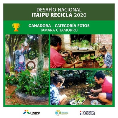 Dan a conocer a los ganadores del Desafío ITAIPU Recicla 2020