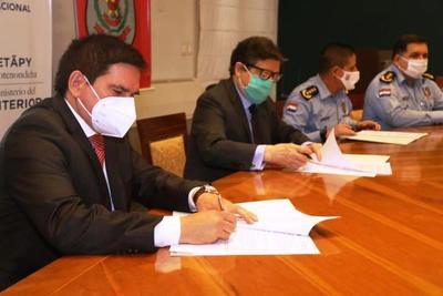 Acuerdan construcción de Colegio de Policía en Paraguarí • Luque Noticias