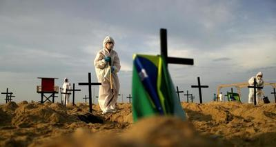 Brasil supera el millón de casos positivos de coronavirus