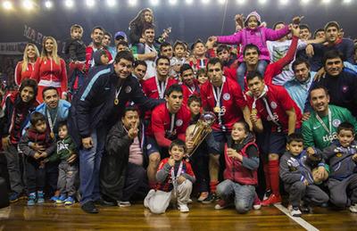 La noche en la que Cerro conquistaba el continente del futsal FIFA
