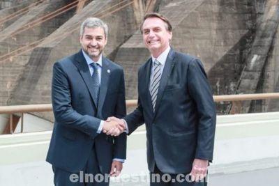 Ahora sí: Paraguay intentar enmendar vía diplomática el error de no contemplar los intereses de Brasil que irritó a Bolsonaro