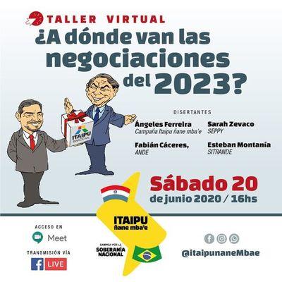 """Mañana se realiza taller virtual """"¿A dónde van las negociaciones del 2023?"""""""