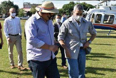 Marito junto al diputado Juancho Acosta inauguraron la Unidad de Salud de la Familia de Karãpã´i