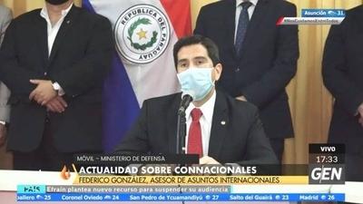 HOY / Federico González, ministro de Asuntos Internacionales, sobre los vuelos de repatriación y albergues