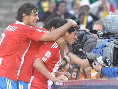 "Cristian Riveros: ""Nde mba'erã papá"