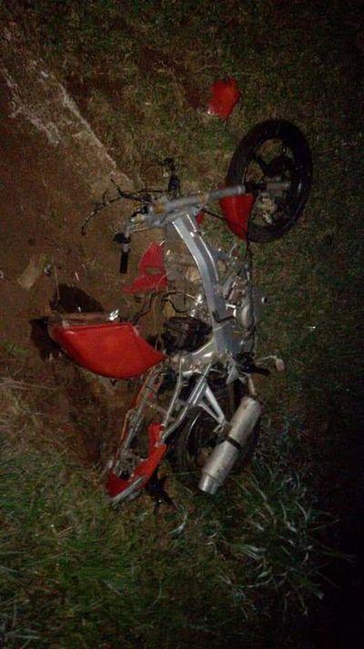 CDE: motociclista muere en accidente de tránsito