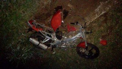 Muere motociclista, tras perder el control de su biciclo en CDE