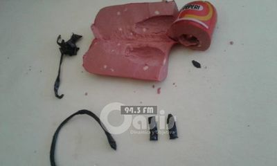 Intentan ingresar detonador de bombas dentro de salame en la cárcel de Pedro Juan