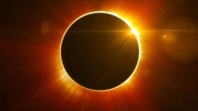 Un eclipse anular de Sol podrá verse mañana en África central y zonas de Asia